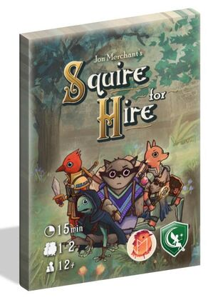 Squire for Hire -  Letiman Games